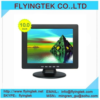 "Free shipping 10.4"" TFT LCD Color CCTV Monitor for Camera system surveillance"
