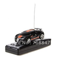 Creative Cola Car Mini RC Radio Remote Control All Star Top Racing Second Generation - Orange & Black