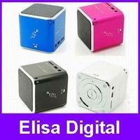 Original MUSIC ANGEL MD07D Free shipping 1pc JH-MD07D mini speaker support TF card with FM USB Slot,RY9004