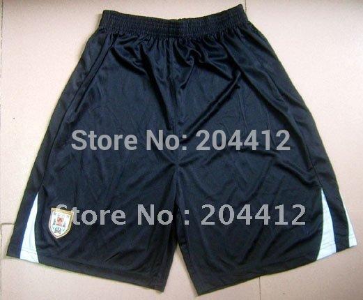 2010 - 2011 URUGUAY NATIONAL SOCCER TEAM SHORTS PANTS BLACK SIZE S M L XL(China (Mainland))