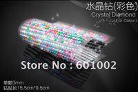 918 3mm full-colour Crystal Bling Rhinestone Car auto Decoration Sticker decal