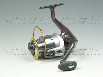 New Arrival!! 1Pcs Pack 10+1BB 5.1:1 KLG6000 Series HUIHUANG  Fishing Reels Cast Aluminium Spool Spinning reel