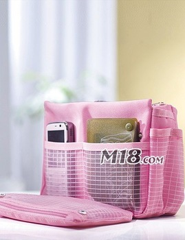 Factory price + DHL EMS Free shipping +  (200pieces/lot) /  2012 NEW storage bag / Bag in bag / 4 kinds of color