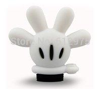 TRENDY USB FLASH PEN DRIVE BLACK WHITE 3D MICKEY GLOVE 2GB/4GB/8GB/16GB MEMORY STICK