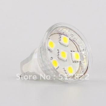12VDC/12VAC/24VAC/24VDC MR11 LED Spot Bulb 6pcs 5050 SMD  20pcs/lot