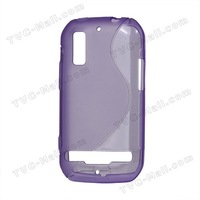 S Shape TPU Gel Case for Motorola Photon 4G MB855 Electrify 10Pieces/Lot Free Shipping EPC-MB855-01