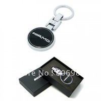 10pcs Exquisite alloy Item Mercedes BENZ AMG I  keychain car keychains classic keyring automobile keyrings car's friend hot sell
