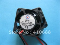 2 Pcs Brushless DC Cooling Fan 5 Blade 2510S 5V 25x25x10mm Hot Sale High Quality