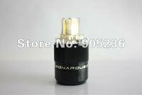 SONARQUEST  24K Gold Plated IEC plug, connector, New in box !!! sonarquest   sonar   sonar quest   sonar plug   sonarquest plug