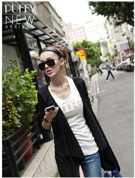 New Arrival ! Fashion Style Womens Cotton Cardigan Coat Free Shipping! Wholesale&Retail 5095(China (Mainland))