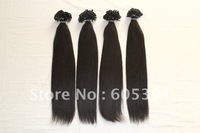 "100% Indian Remy Human Hair, cuticle correct, fine soft quality, 18"" 200 pieces per pack, Flat glue tips,  na#1 pack = 100g"