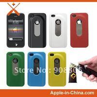 Colorful Bottle Opener Case for iPhone 4S Hard Shell Case Slide Out Bottle Opener