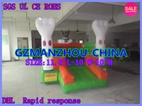 Free Shipping  High efficiency, safety SIZE:11.5'L-10'W-10'H +BLOWER inflatable Inflatable trampoline