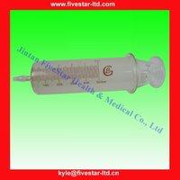 Glass Syringe 500ml for labware