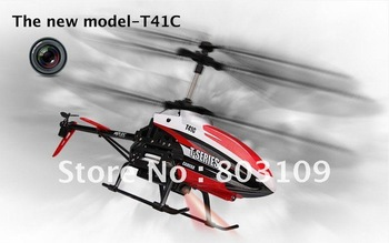 MJX T41C 2.4G Camera Video 3.5CH RC Helicopter GYRO 44CM T41