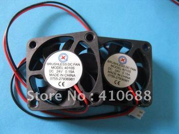 2 Pcs Brushless DC Cooling Fan 7 Blade 4010S 24V 40x40x10mm Hot Sale High Quality