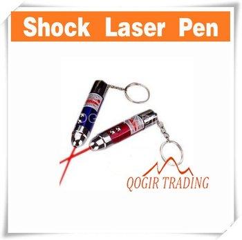 Electric Shock Laser Pen Prank Joke Trick Get ZZamm 5mW D8235