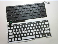 "Keyboard With Backlight for Macbook Pro Unibody 15"" A1286 2009 2010 2011 Tested"