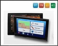 Newest!!! Free shipping 7 Inch TFT screen MID Car GPS with BT,FM,AV-In functions