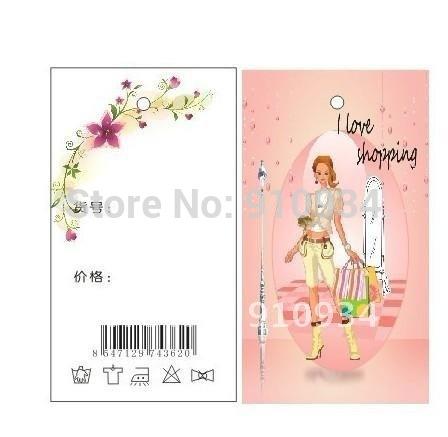 CMYK printing hanging tags(China (Mainland))