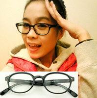 Free shipping wholesale 10pcs/lot Rhombus rivet plain mirror non-mainstream glasses 5183 8