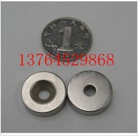 super Powerful n35 NdFeB Neodymium Disc Countersunk Ring Magnets D20*5mm hole 5mm