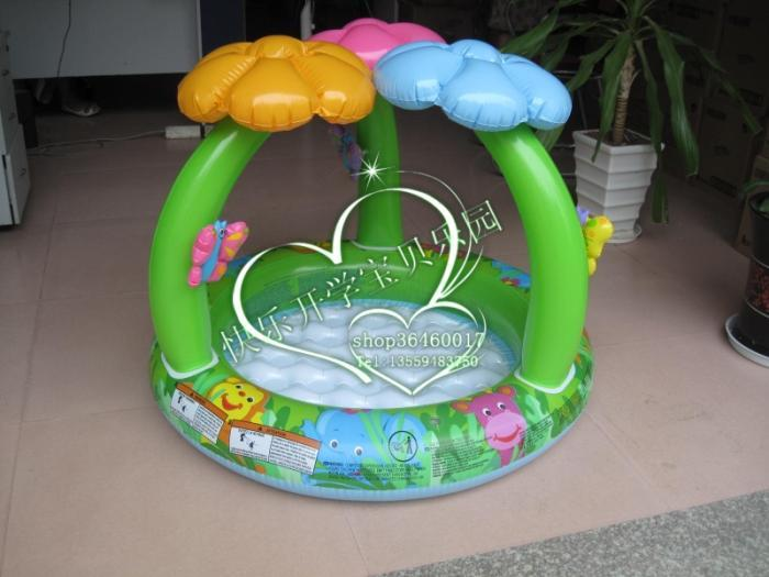 Free Shipping! Intex 57419 jungle baby pool inflatable swimming pool child swimming pool toy TOY0007