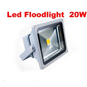 Free Shipping Led Floodlight 20W 85-265V Warm White / Cool White Outdoor Hight Power Landscape Wall Washer Light Color Changing(China (Mainland))