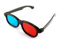 10Pcs/lot New Red Blue Cyan 3D Glasses 3 D Dimensional Free AIR Mail ONLY , Factory Prices!!!