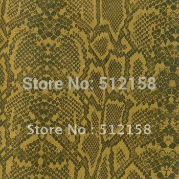 Hydrographic Animal Pattern films water transfer printing film Gold snake skin pattern GW2630B WIDTH 100CM