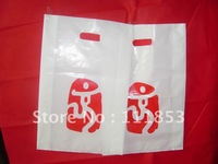 Providing custom logo printing services !Quality guaranteed die-cut shopping plastic bags. 12*20*0.014cm  Free shipping by DHL