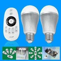 6W E26 Led Kelvin Controllable Light Bulb with RF Remote Control, led ball lamp, led light bulb E26, AC86~265V, with dimmer