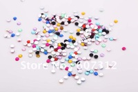 Wholesale 5000pcs  3mm  Acrylic Flatback Rhinestone  craft  DIY material ,free shipping,