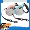 30-50kgs! Pet training flexible leash, DELE 3/4/5 meters harness, dog chain