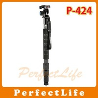 Quick Carbon ballhead monopod P-424+L10 For Digital Camera 171cm, max load 15kg A032A004