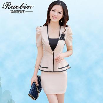 Free shipping! 2015 women's skirt work wear dress set twinset skirt,suits for women,career 2pcs sets
