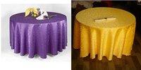 Round table cloth free shipping Hotel Restaurant tablecloths wallpaper diameter 260cm Jacquard tablecloth circular