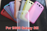 10pcs/lot 0.3mm Crystal Clear Hard Case Transparent Cover for Samsung Galaxy S3 i9300 protector