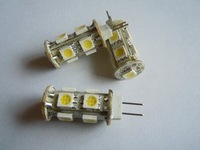 Wholesale 5pieces/lot G4 Base 9pieces SMD5050 LED replacement halogen light bulbs 12VAC Free shipping