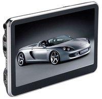 Free Shipping 5 inch Car GPS Navigator with 4GB Memorey free map
