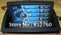 "8"" Car Navigation System DVD Player,GPS,BT,Radio,USB,PIP, For BENZ C180 C200 W204"