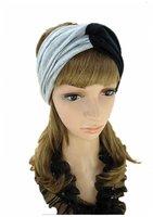 A--free shipping, wholesale/Retail  ladies fashion hair headband, 100% cotton fabric headband
