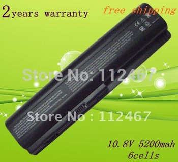 2pcs/Lot Lapop Battery for HP DV4 DV4T DV4Z DV5 DV5T DV5Z DV6   HSTNN-IB73 HSTNN-LB72  +tracking number