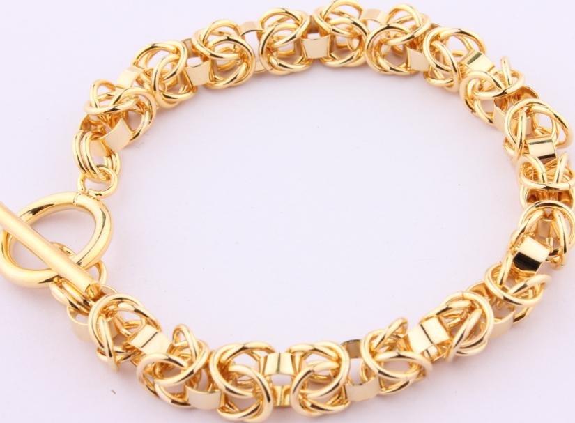 Bangle Bracelets Gold Gold Filled Bracelet 18k