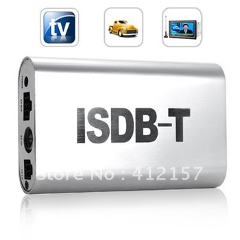 Car Mobile ISDB-T Digital TV Receiver Box Tuner for Cars MPEG-4 AVC H.264
