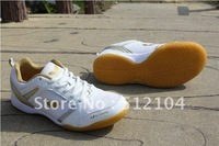 HOTsale The new table tennis shoes male sports lovers y WIN-two white gold