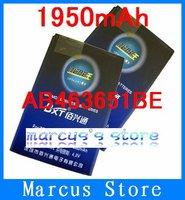 1950mAh AB463651BE Battery Use for Samsung W559/ZV60/B3410/B5310/C3200/C3222/C3518/C3730C/C5180/C5190/C5510/C6112/F278/F339/F400
