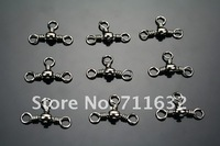 FREE SHIPPING 1000 CrossLine (3 Way) Fishing BARREL Swivel 2#