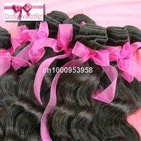 Brazilian 100% huaman virgin hair weaving 5pcs/lot hot sale  remy natural hair extension