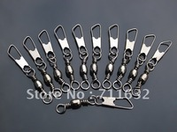 Free shipping 500pcs BARREL SWIVEL SAFETY SNAP SOLID RINGS 3+A# a